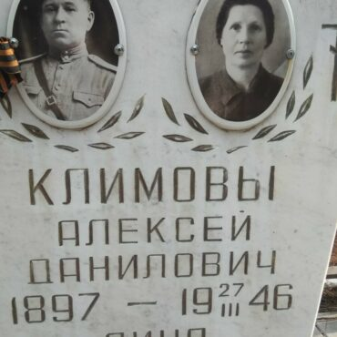 Климов Алексей Данилович