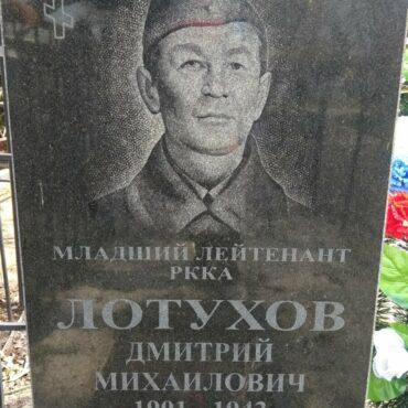 Лотухов Дмитрий Михайлович